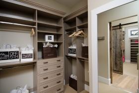 Driftwood Master Walk-In Closet