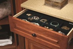 Traditional Master Walk-In Closet Drawer Insert