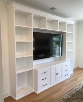 Entertainment-Unit-White-Wall-to-Wall