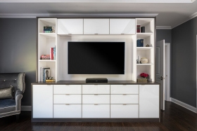 Entertainment-Unit-and-Media-Center-White-with-Accent-Custom