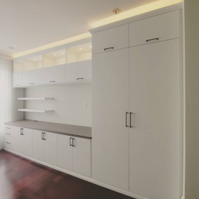 White-Custom-Entertainment-Wall-Unit