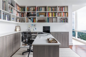 Home-Office-Custom-with-lots-of-storage-book-case-and-island-desk