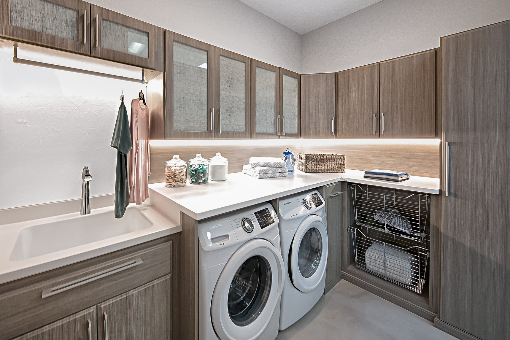 Custom Laundry Room Closets And Utility Rooms Portland Closet Company