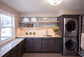 Dark-Grey-Laundry-Room