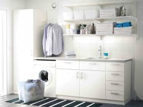 White-Modern-Laundry-Room