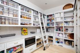Custom-White-Pantry-Storage