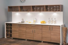 Custom Bar Wine Storage