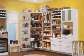 White Pantry Storage