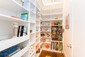 White-Pantry-with-Drawers-Wire-Baskets-and-Vertical-Shelves-for-trays