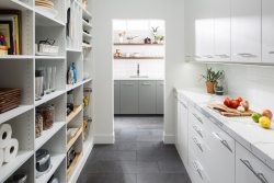 Custom White Pantry