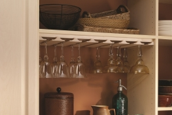 Stemware Wood Rack