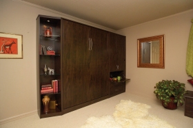 Wall-Bed-with-Side-Cabinets-Belgian-Chocolate-Closed