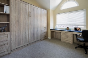 Wall-Murphy-Bed-with-Home-Office-and-Guest-Room-Combo-Closed