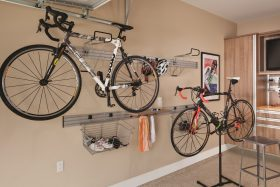 Horizontal Bike Storage Racks