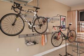 Horizontal Bike Storage Racks