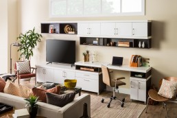 Entertainment Unit Upper Cabinets