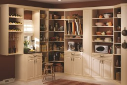 Pantry Storage Maple
