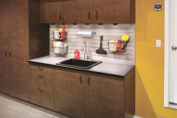 Copper Blaze Garage Cabinets