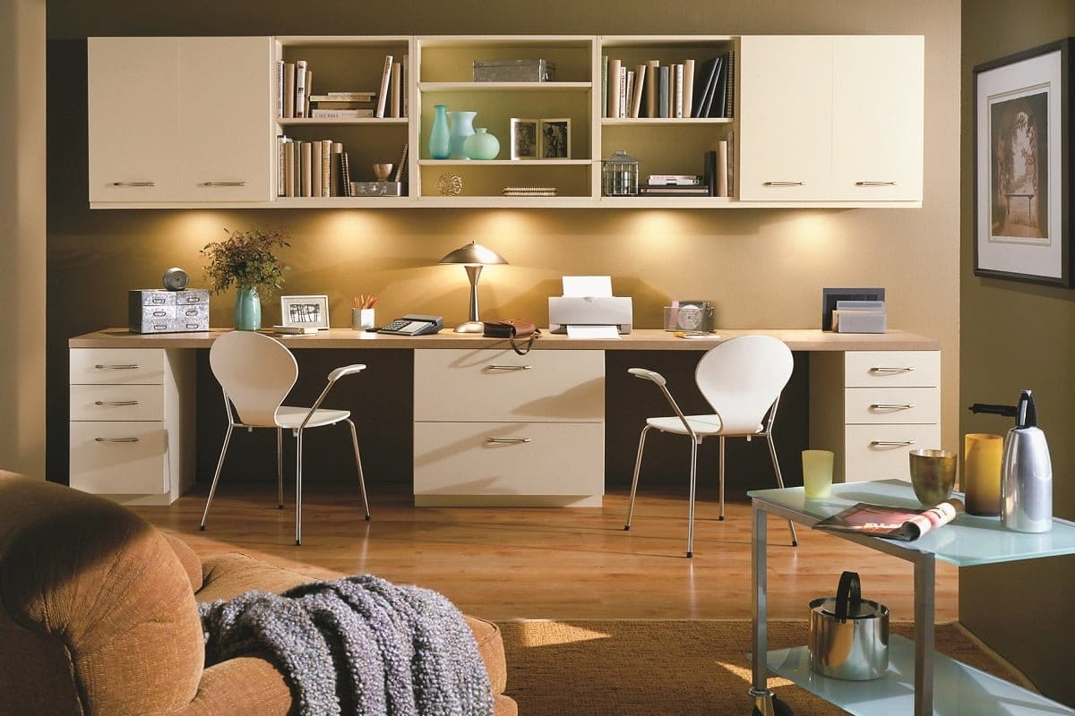 custom home offices and craft rooms portland closet company
