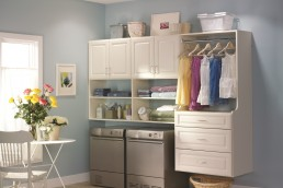 Laundry Room Cabinets White
