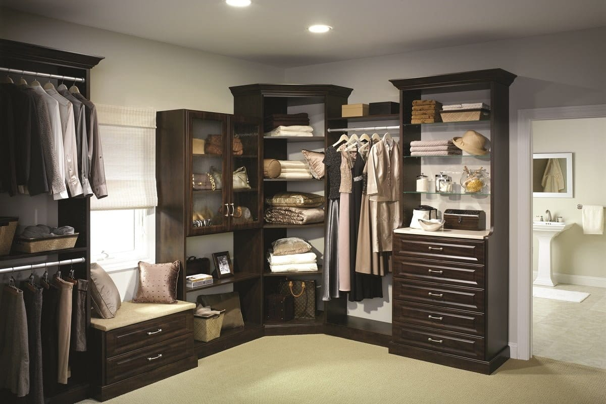 Custom closets offices wallbeds and more portland closet - Mens walk in closet ...