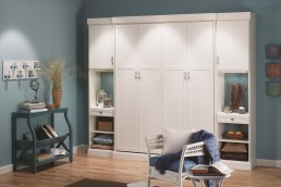 White Murphy Bed