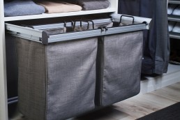 Pull-Out Double Laundry Hamper