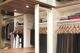 Pull-Out Closet Mirror
