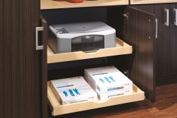 Pull-Out Printer Drawer