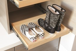 Pull-Out Shoe Storage