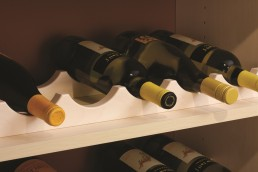 Scalloped Wine Rack