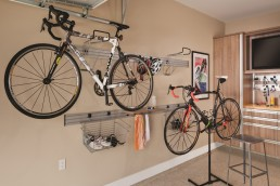 Wall-Mounted Bike Storage