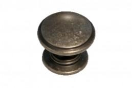 1318 Weathered Iron Circle Knob