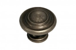 6266 Weathered Iron Circle Knob