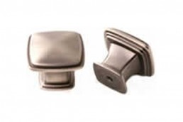 9615 Satin Pewter Square Knob